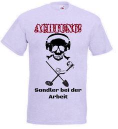 T-Shirt Achtung Sondler in grau / mehr Infos auf. www.Guntia-Militaria-Shop.de