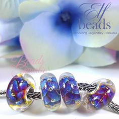 Elfbeads Violet Braid - Kaleidoscope Collection