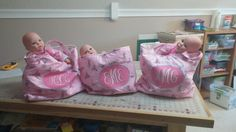 Baby tote bags for granddaughters