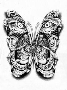 The Animal Spirits Within: Black and White Tribal Totem Animal Art ...