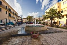 City Center in Pozzallo Sicily