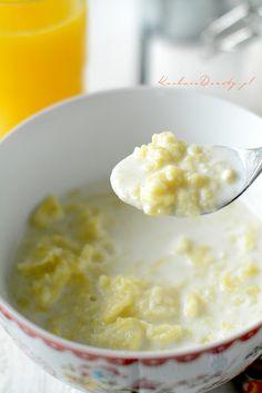 lane-kluski Polish Food, Polish Recipes, Pierogi, Cheeseburger Chowder, Soup, Pudding, Foods, Desserts, Food Food