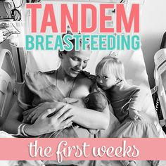 Currently, two members of the Daily Mom team are in the midst of tandem breastfeeding. After alot of trial and error, a few tears, and many snuggles with our little ones, we realized that everyone should know about the products and resources that helped us during our first few weeks of