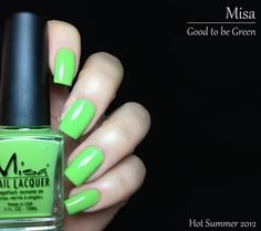 Misa Good To Be Green