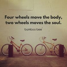 So true! Experienced this yet? Thanks for this lovely picture. Bicycle Quotes, Cycling Quotes, Bike Ride Quotes, Bamboo Bicycle, Mountain Biking Quotes, Cycling Motivation, Motivation Quotes, Fitness Motivation, Cycling Bikes