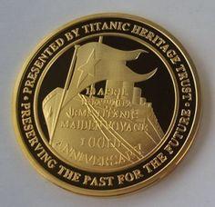 Titanic memorial coin