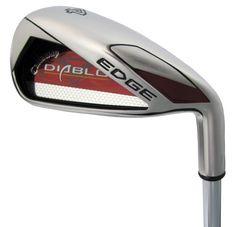 Callaway Golf Diablo Edge Irons, Set of 8 (Right Hand, Steel, Uniflex) Mens Golf Clubs, Wilson Golf, Discount Golf, Golf Club Sets, Callaway Golf, Iron Steel, Golf Irons, Play Golf, Taylormade
