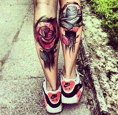 Tattoos nike