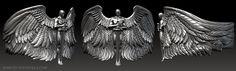 Archangel ring designed by Marco Valenzuela 2014