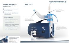 Pulsujący aerozol - PARI SINUS