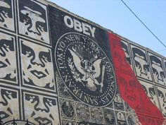 OBEY GIANT GRAFFITI AUNDRE THE GIANT POSTER - Graffiti Pictures & Graffiti Art