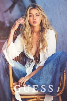 Gigi Hadid for Guess, Spring 2015