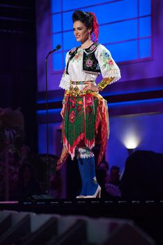 Albania - National Costume Inspired By The Miss Universe 2015 Pageant