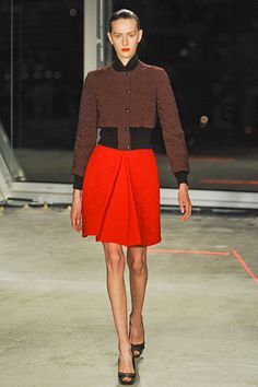 Could I pull this off? Jonathan Saunders fall 2012 rtw.