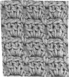 Simple Three Crochet Pattern