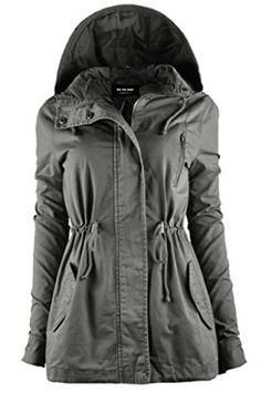 New Ollie Arnes Ollie Arnes Women's Versatile Utilitarian Warm Anorak Drawstring Parka Jacket online shopping - Allfashiondress Fall Jackets, Parka Jackets, Jackets For Women, Anorak Jacket, Hoodie Jacket, Best Parka, Best Casual Outfits, Tops For Leggings, Autumn Fashion
