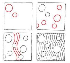 Image Detail for - Nipa * original Zentangle pattern