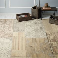 Cadiz Wool Rug - Ivory | West Elm