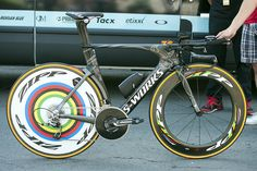 Pro Bike: Tony Martin's stage-winning Specialized S-Works Shiv - A 58-tooth chainring with a 11-32 cassette. VeloNews.com #TDF