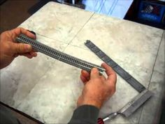 How to Make N Scale Kato Unitrack Flex Track by Fifer Hobby Supply