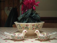 Emma Bridgewater Wild Strawberry Pudding Basin