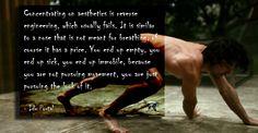 Ido Portal Quote Aesthetics