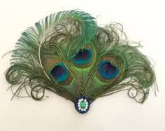Image result for peacock feather fascinator