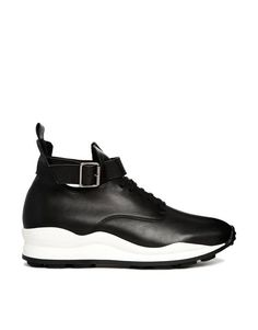 Opening Ceremony High Top Black Sneaker Trainers - Opening Ceremony