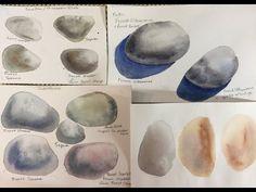 Watercolor Video, Watercolor Water, Watercolor Tutorials, Watercolor Paintings, Watercolor Lesson, Pastel Paintings, Watercolours, Learn Art, Learn To Paint