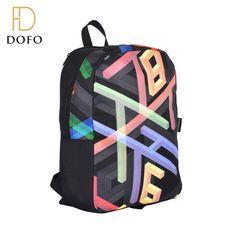 Wholesale fashion custom cheap black children school bag