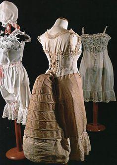 Ropa interior sobre 1870's Historia de la Moda y los Tejidos: La colección de Ana González-Moro