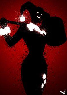 Harley Quinn by Sno2