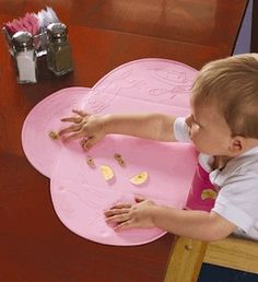 no more worries about germs on the table surface