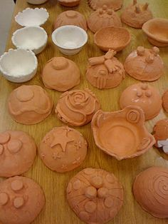Empty Bowl Project - clay bowls