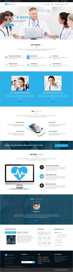 Nivodental is a perfect responsive 5 in 1 #HTML5 template for #health #clinics, #surgeons, doctors, dentists, hospitals and any type of health or medical organization website download now➩ https://themeforest.net/item/nivodental-responsive-multipurpose-html5-template/17463988?ref=Datasata