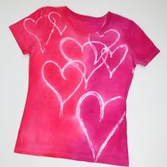 Make your own Valentine's tshirt...can put initials inside the heart