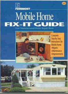 Excellent book reviews on the only books out there for mobile home renos and repairs