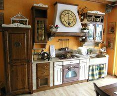 Cucina del Fienile: cucina rustica Il Borgo Antico  ispirazioni rustiche  P...