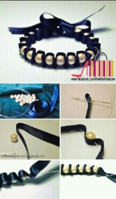 Pearls jewelry diy