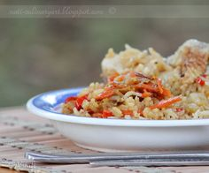 Rice with chicken - אורז עם עוף Easy Entertaining, Culinary Arts, Fried Rice, Fries, Ethnic Recipes, Food, Essen, Meals, Nasi Goreng