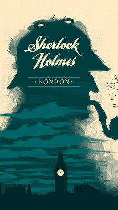 some beautiful posters like this one: elementary sherlock holmes retro poster design made by graphic designer Rupinder Singh Book Cover Art, Book Cover Design, Book Design, Type Design, Book Art, Sherlock Poster, Sherlock Bbc, Sherlock Holmes Book, Sherlock Quotes