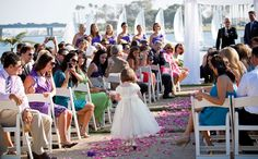 So adorable! Paradise Point wedding