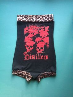 The Distillers one piece romper/jumpsuit    Handmade rock n roll, punk rock, rockabilly,psychobilly and pin up clothing from Scotland.