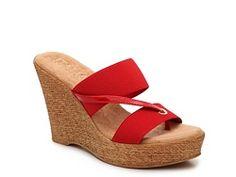 Italian Shoemaker Bellamy Wedge Sandal