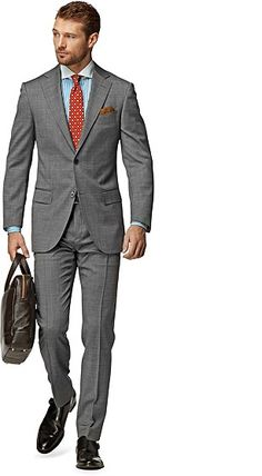 Suit_Grey_Plain_Napoli_P3752I