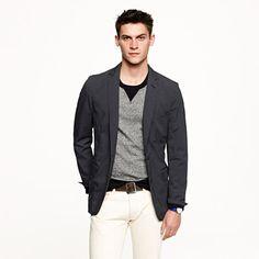 Ludlow unconstructed sportcoat in Japanese cotton twill - sportcoats & vests - Men's new arrivals - J.Crew