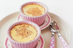 simple baked custard desserts - yum and easy, EGGS