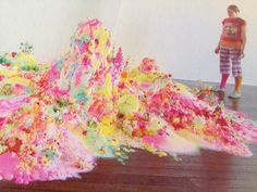 Three Minutes Happiness - sugar artworks by Pip & Pop (Tanya Schultz and Nicole Andrijevic)