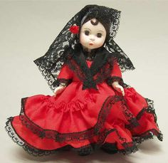 "pictures of  madame alexander dolls  | MADAME ALEXANDER International-8"" Doll STOCK"
