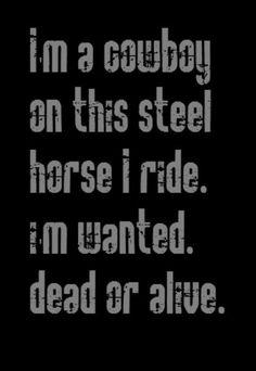 Wanted Dead Or Alive  Bon Jovi
